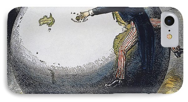 Imperialism Cartoon, 1876 Phone Case by Granger