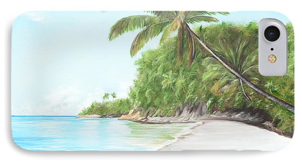 In Paradise IPhone Case by Lloyd Dobson