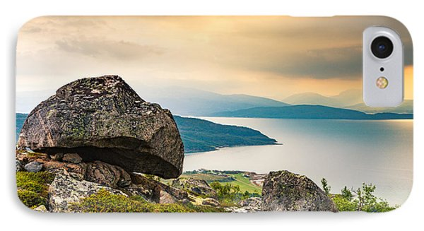 IPhone Case featuring the photograph In The North by Maciej Markiewicz