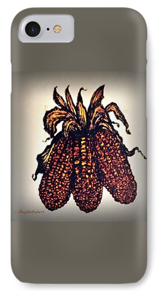 Indian Corn IPhone Case by MaryLee Parker