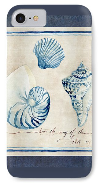 Indigo Ocean - Song Of The Sea IPhone Case by Audrey Jeanne Roberts