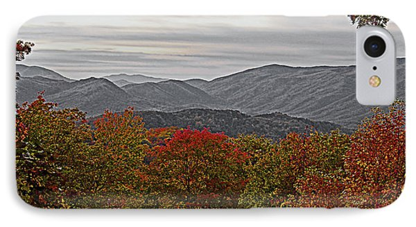 Infinite Smoky Mountains Phone Case by DigiArt Diaries by Vicky B Fuller