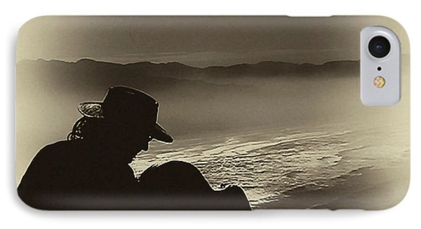 Inspired By The Mist IPhone Case by David Patterson