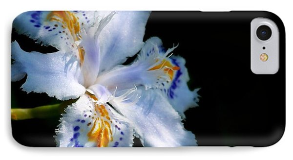 Iris IPhone Case by Sylvie Leandre