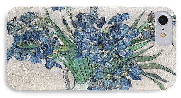 Irises, 1890 IPhone Case by Vincent Van Gogh