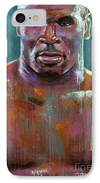 Iron Mike Phone Case by Robert Phelps