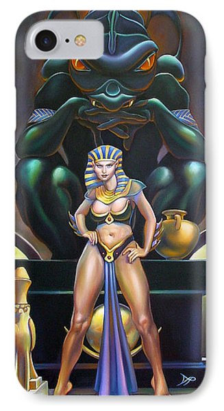 Isis And Osiris Phone Case by Patrick Anthony Pierson