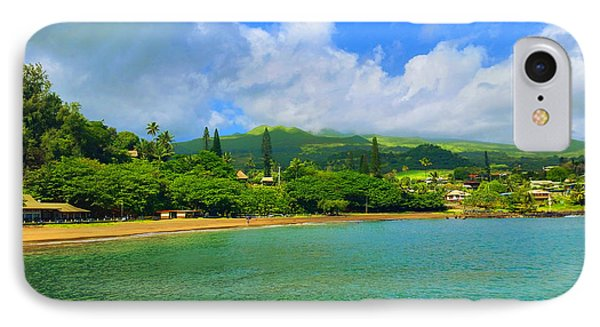 Island Of Maui Phone Case by Michael Rucker