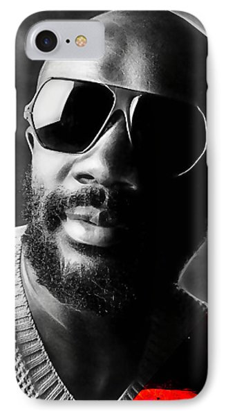Issac Hayes Collection IPhone Case by Marvin Blaine
