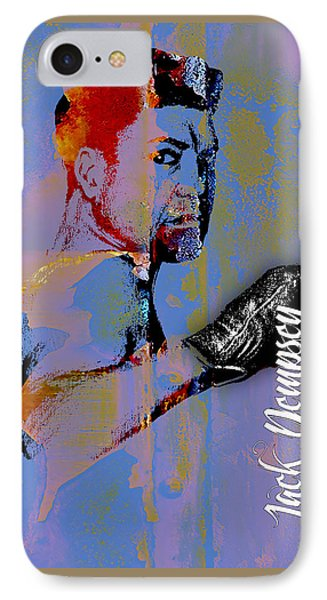 Jack Dempsey Collection IPhone Case by Marvin Blaine