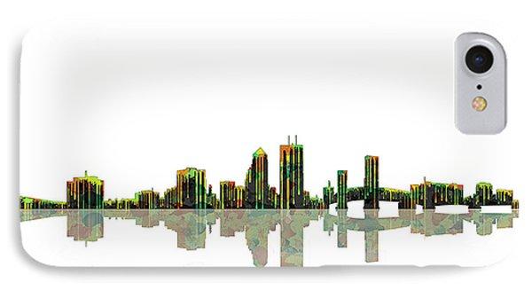 Jacksonville Florida  Skyline IPhone Case by Marlene Watson