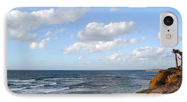 Jaffa Beach 5 IPhone Case by Isam Awad