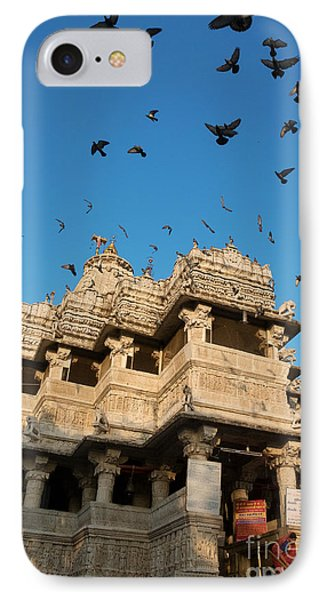 IPhone Case featuring the photograph Jagdish Temple by Yew Kwang
