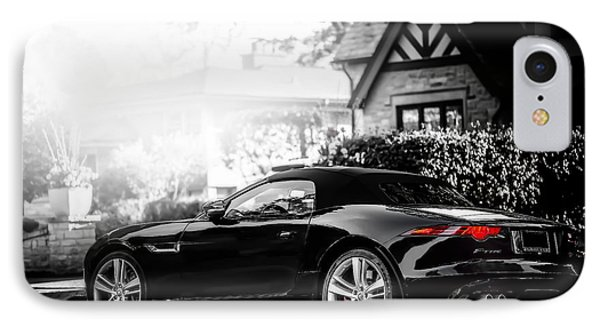 Jaguar F Type S  Phone Case by Darek Szupina Photographer