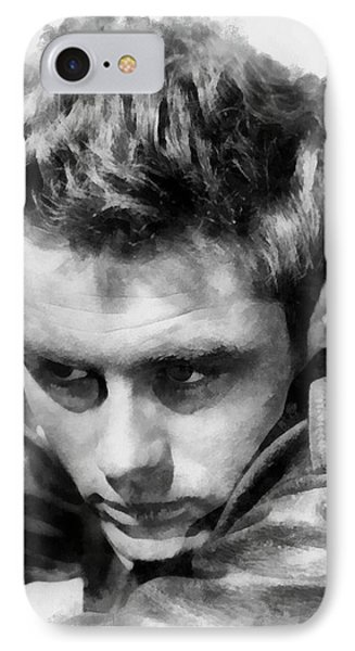 James Dean By John Springfield IPhone Case by John Springfield