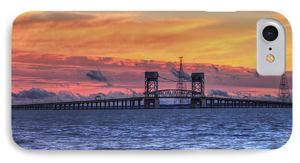 James River Bridge IPhone Case by Jerry Gammon