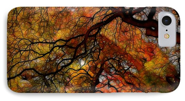 Japanese Maples 2 IPhone Case