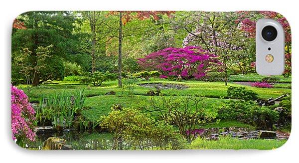 Japanese Garden IPhone Case by Anastasy Yarmolovich