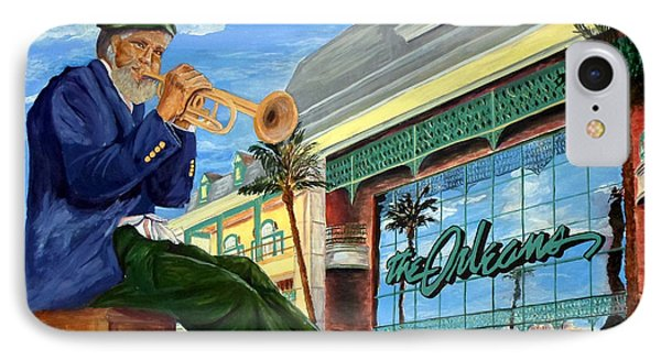 Jazz At The Orleans IPhone Case by Vicki  Housel