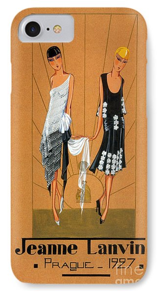 Jeanne Lanvin Design, 1927 IPhone Case by Science Source
