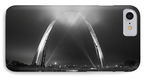 Jefferson Expansion Memorial Gateway Arch IPhone Case