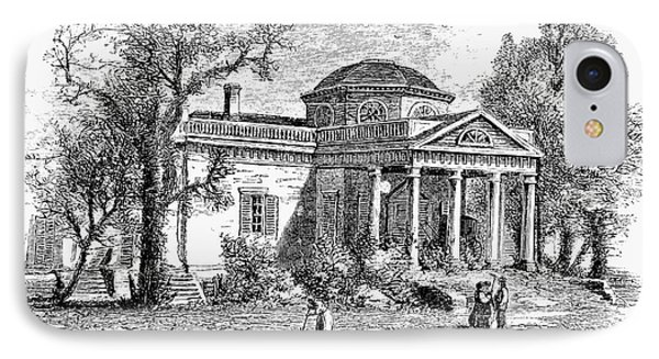 Jefferson: Monticello Phone Case by Granger