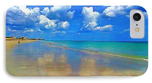 Jensen Beach  IPhone Case by Patrice Torrillo