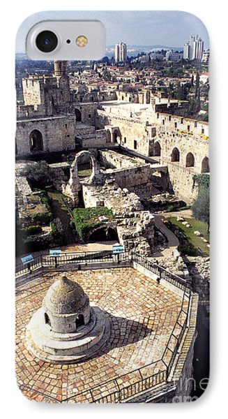 Jerusalem From The Tower Of David Museum Phone Case by Thomas R Fletcher