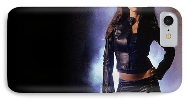 Jessica Alba iPhone 7 Case - Jessica Alba by Carmine Danhauer