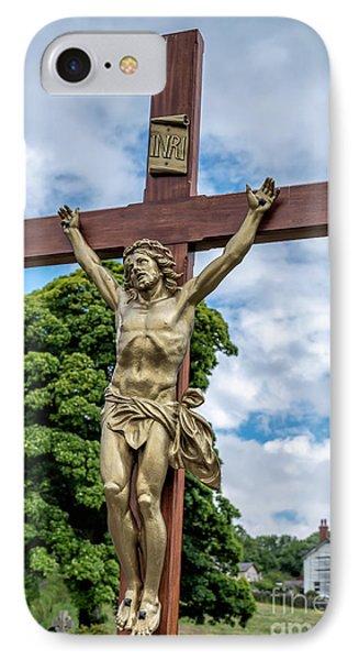 Jesus Of Nazareth IPhone Case by Adrian Evans