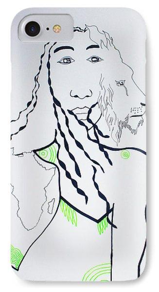 Jesus The Lion Of Judah IPhone Case by Gloria Ssali