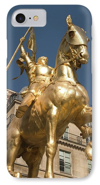 Joan Of Arc Phone Case by Carl Purcell
