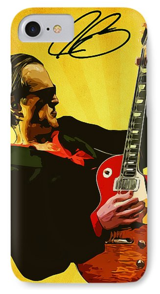 Joe Bonamassa IPhone Case by Semih Yurdabak