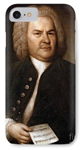 Johann Sebastian Bach, German Baroque Phone Case by Photo Researchers