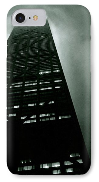 John Hancock Building - Chicago Illinois IPhone Case by Michelle Calkins