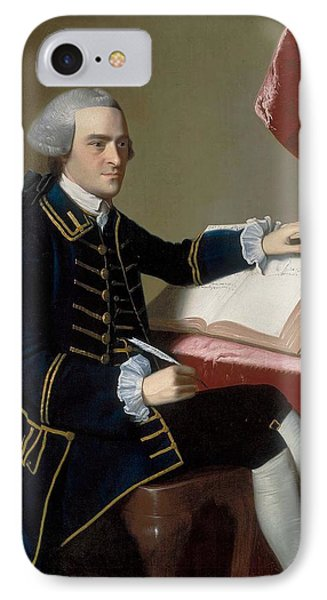 John Hancock IPhone Case by John Singleton Copley