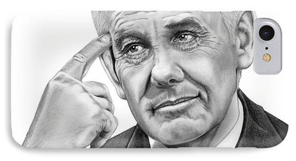 Johnny Carson IPhone 7 Case by Murphy Elliott
