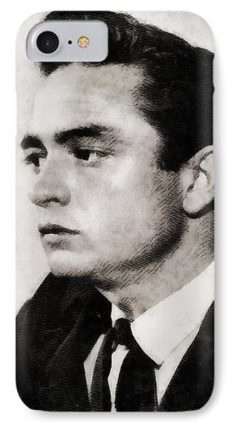 Johnny Cash, Singer IPhone 7 Case by John Springfield