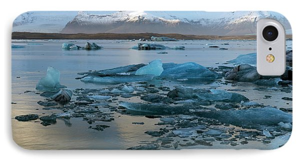 IPhone Case featuring the photograph Jokulsarlon, The Glacier Lagoon, Iceland 5 by Dubi Roman