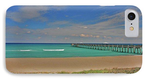 IPhone Case featuring the photograph 1- Juno Beach Pier by Joseph Keane