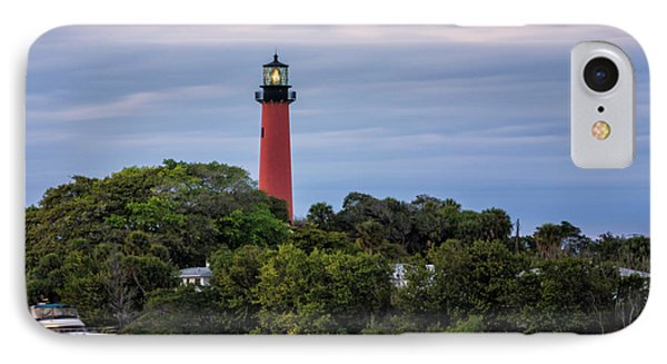 Jupiter Inlet Lighthouse IPhone Case by Fran Gallogly