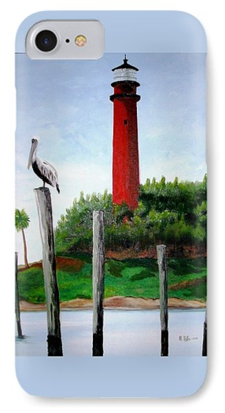 Jupiter Lighthouse Number Two IPhone Case