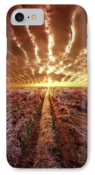 IPhone Case featuring the photograph Just Over The Horizon by Phil Koch
