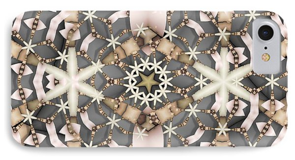 IPhone Case featuring the digital art Kaleidoscope 97 by Ron Bissett