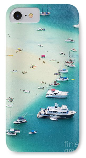 Kaneohe Bay, Boats Phone Case by Ron Dahlquist - Printscapes