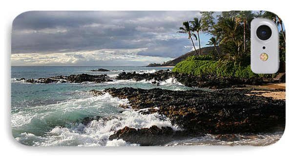 Ke Lei Mai La O Paako Oneloa Puu Olai Makena Maui Hawaii Phone Case by Sharon Mau