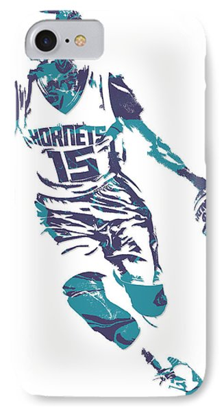 Kemba Walker Charlotte Hornets Pixel Art 5 IPhone Case