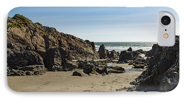IPhone Case featuring the photograph Kennack Sands by Brian Roscorla