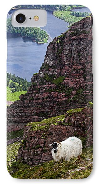 Kerry Mountain Sheep Ireland Phone Case by Pierre Leclerc Photography