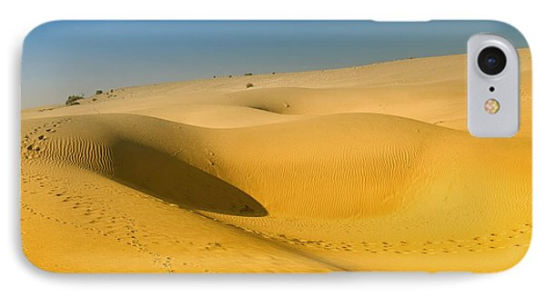 IPhone Case featuring the photograph Khuri Desert by Yew Kwang